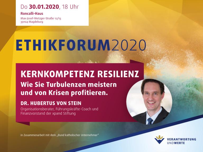 Ethikforum Kernkompetenz Resilienz
